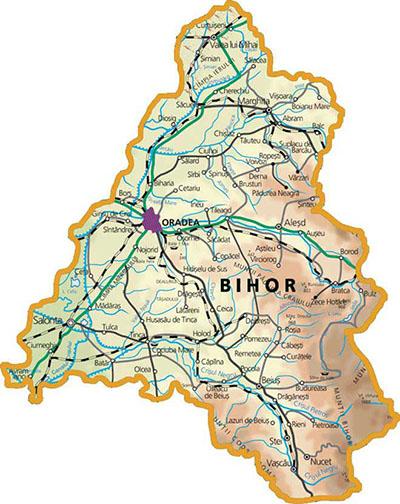 Harta Bihor